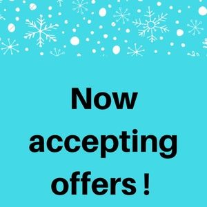 Now accepting offers !